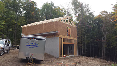 Ostrander construction new home Wayne County